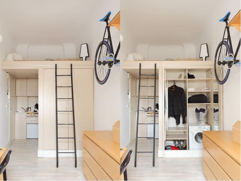 Tiny Apartment by Szymon Hanczar