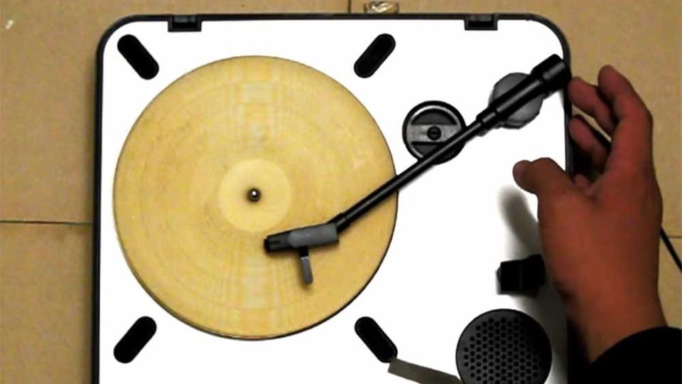 Tortilla record player