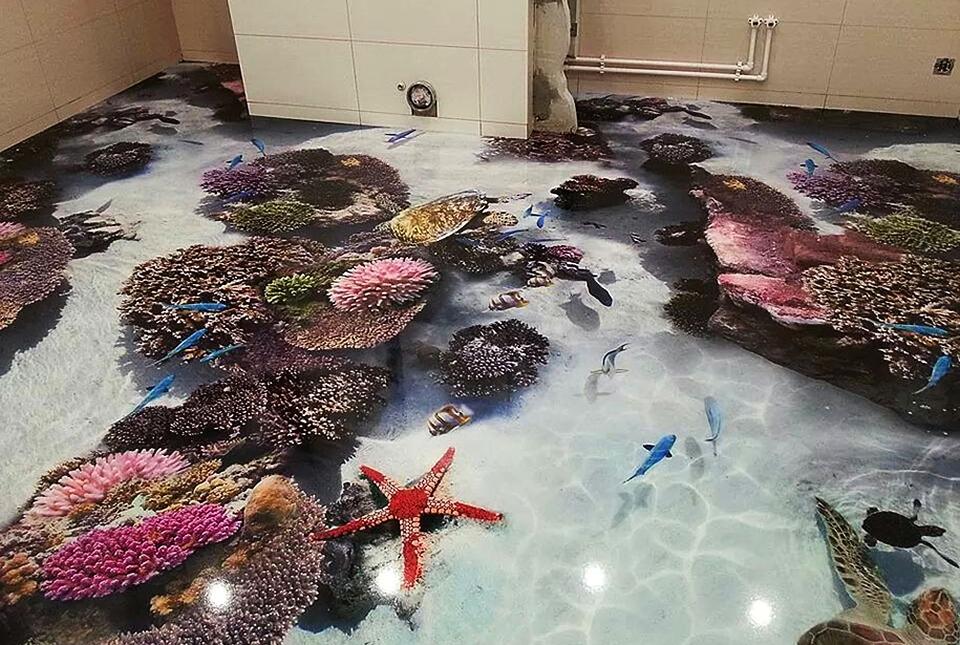 3D Epoxy Polymer Floors