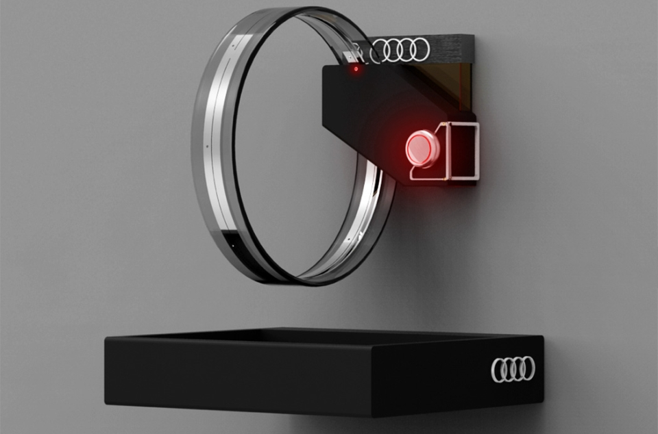 Audi-inspired Hudōr Faucet