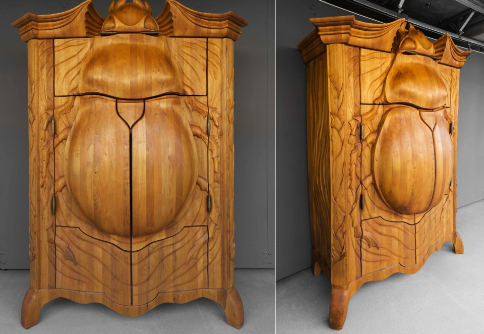 Beetle Cabinet by Janis Straupe