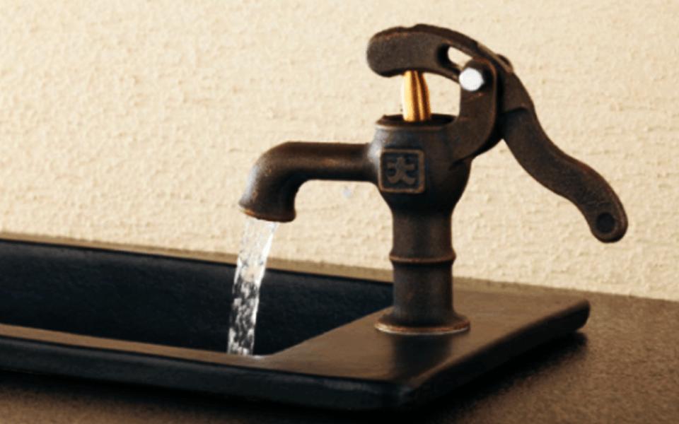 Eccentric Faucets by Kakudai