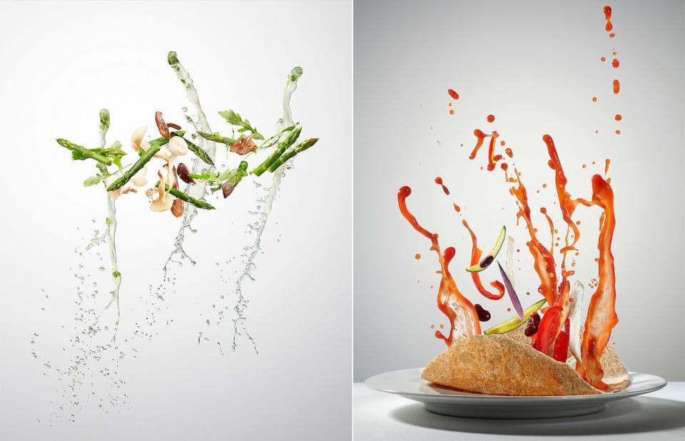 Flying Food by Piotr Gregorczyk