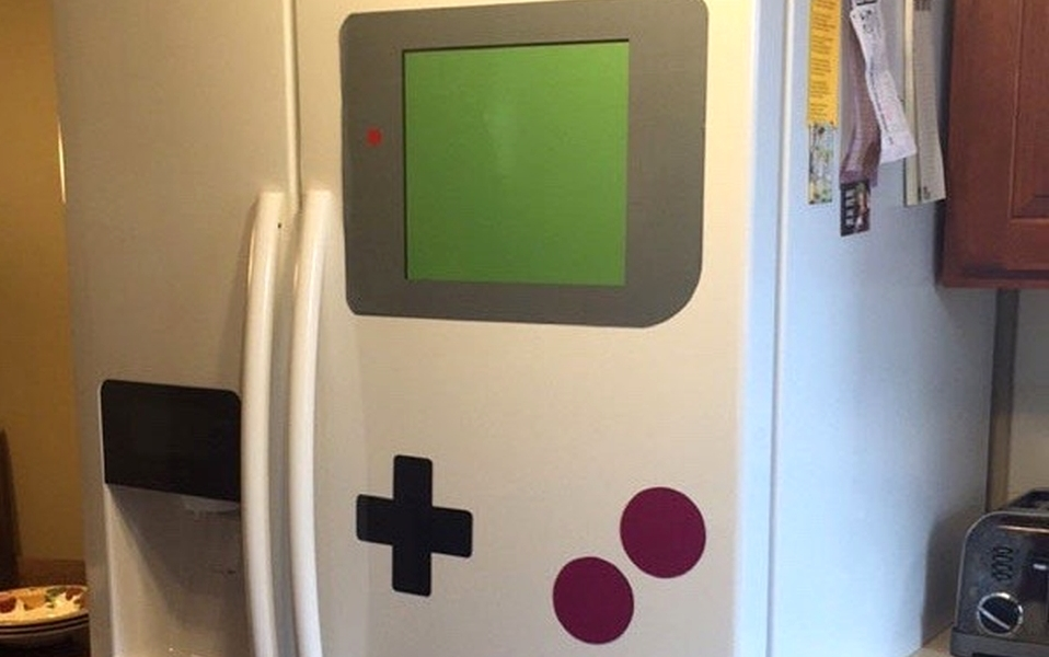 GameBoy Magnetic Stickers