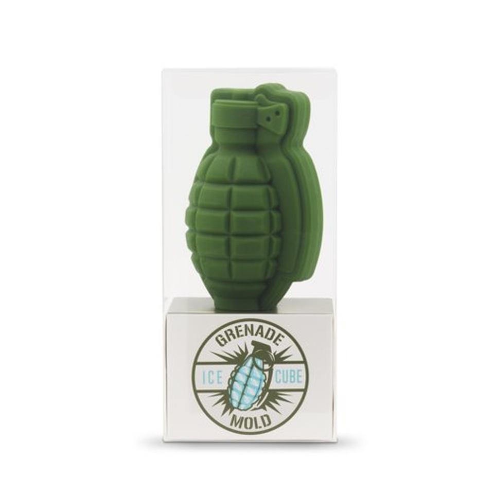 Grenade Ice Cube Mold