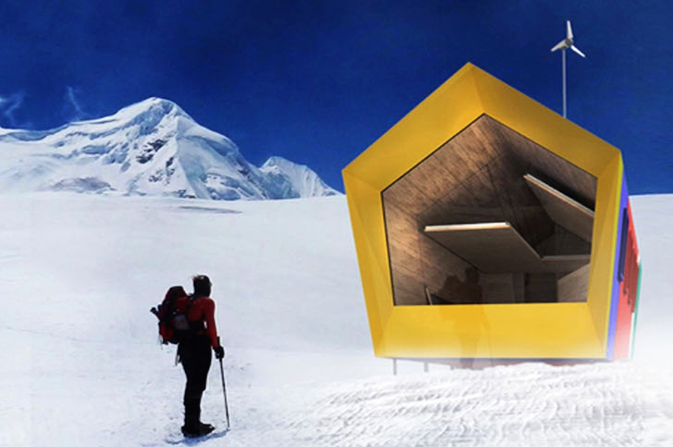 Himalayan Mountain Hut Competition winners