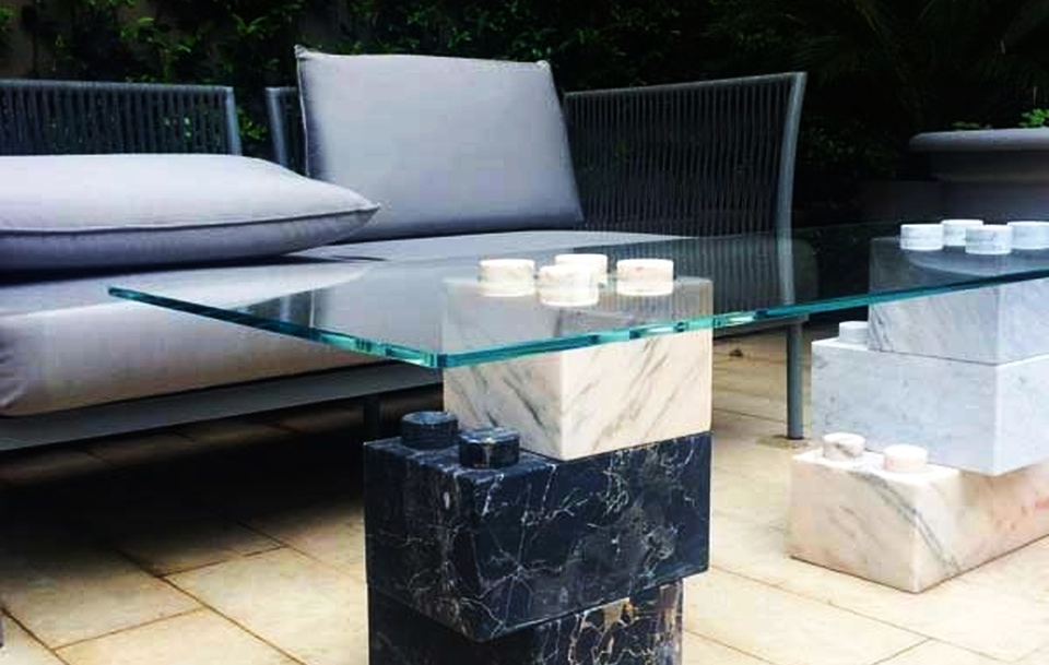 Lego Marble Furniture by App One Design
