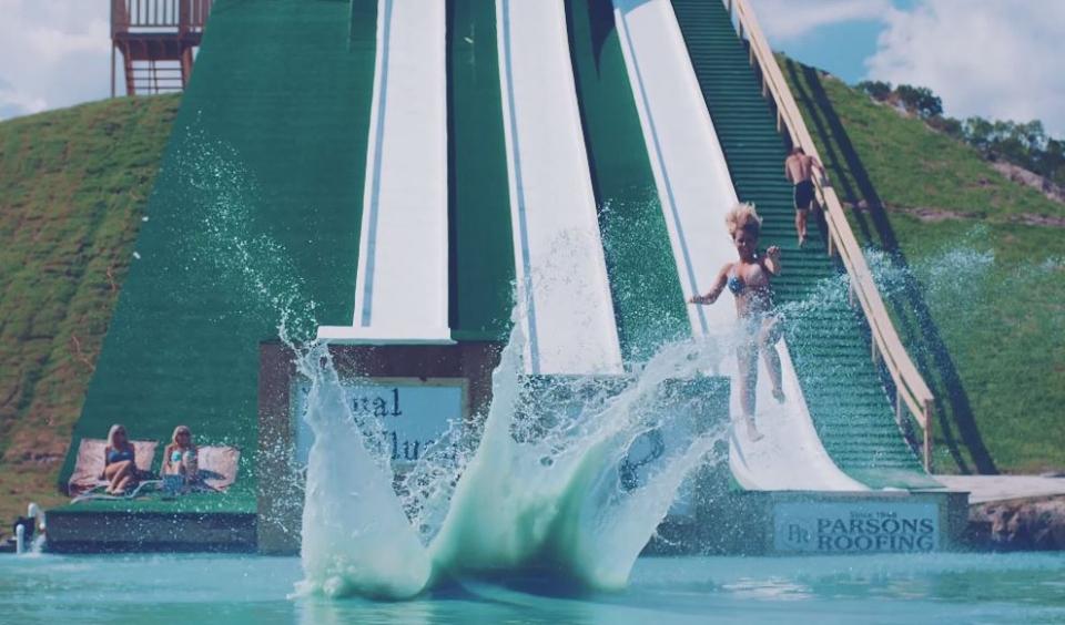 Royal Flush Water Slide