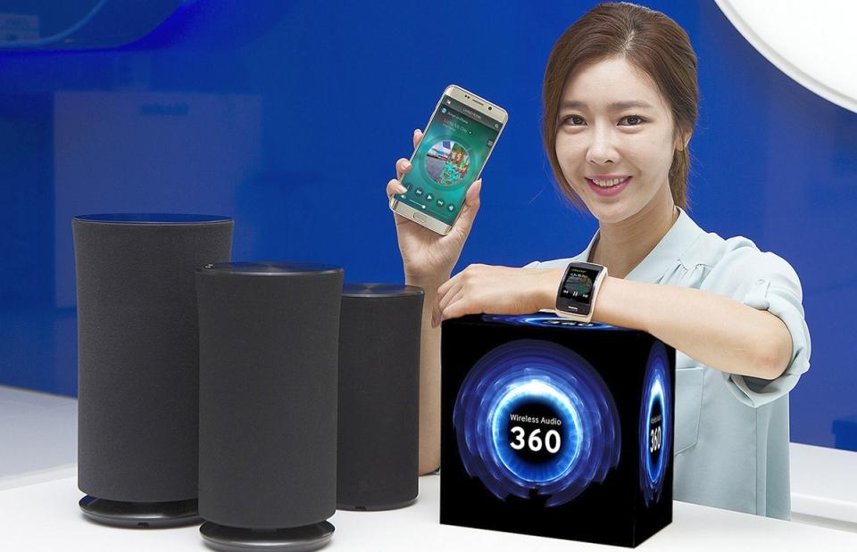 Samsung Wireless Audio 360 Speaker