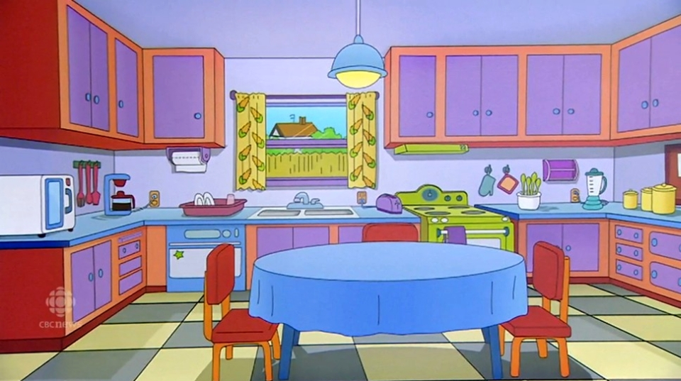 Marge's Kitchen from The Simpsons Series