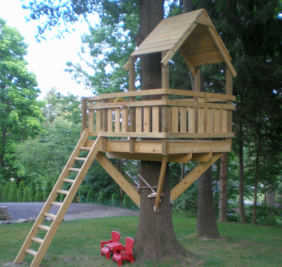 How to build a treehouse for kids