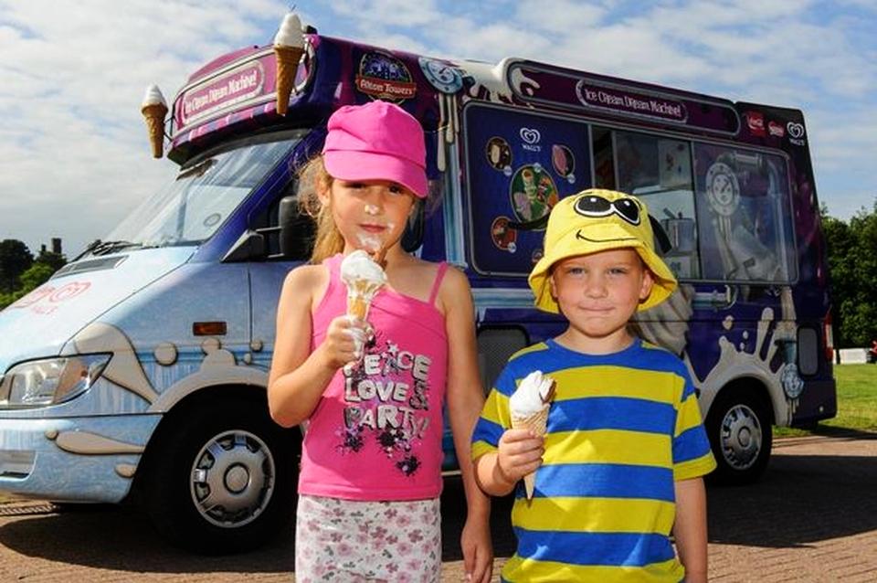 World's first unmeltable ice-cream