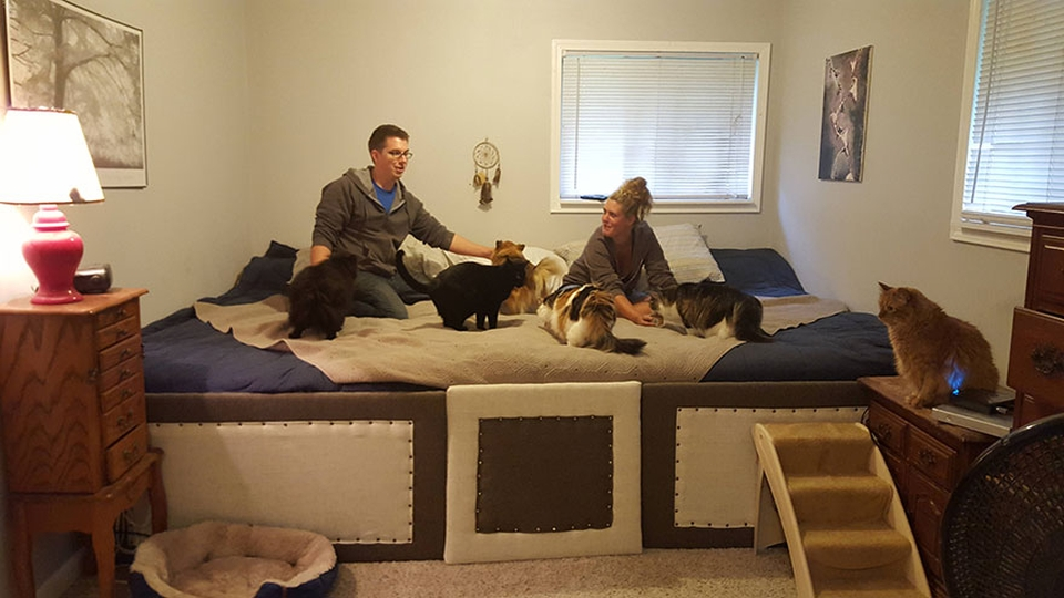 11-foot bed by Reddit user
