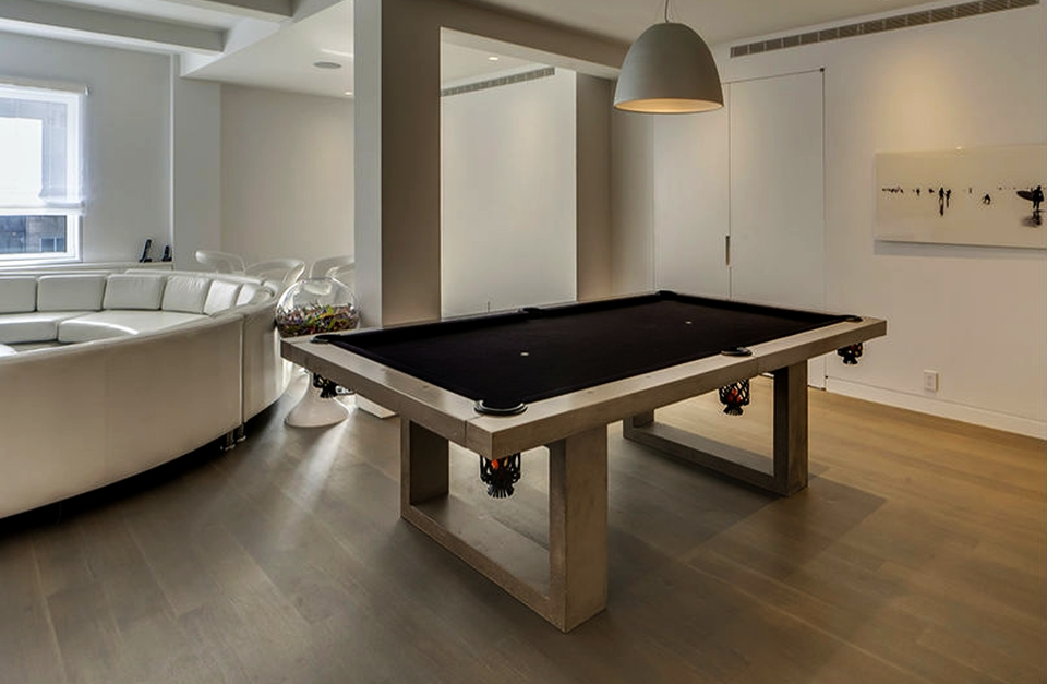 7 concrete gaming tables spice up sports with designer flair