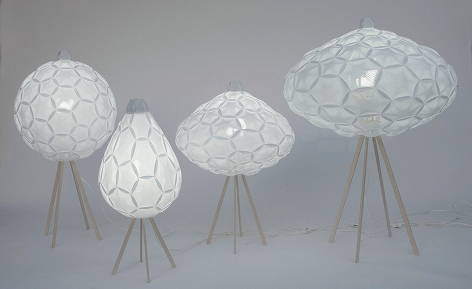 Airy Lamp Series by 24° Studio