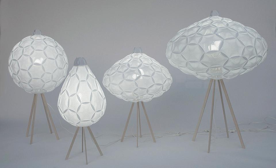 Airy Lamp Series by 24° Studio