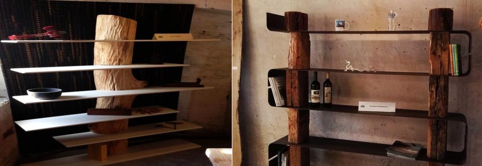 Antoniazzi & Piovesana's Wooden Bookcases