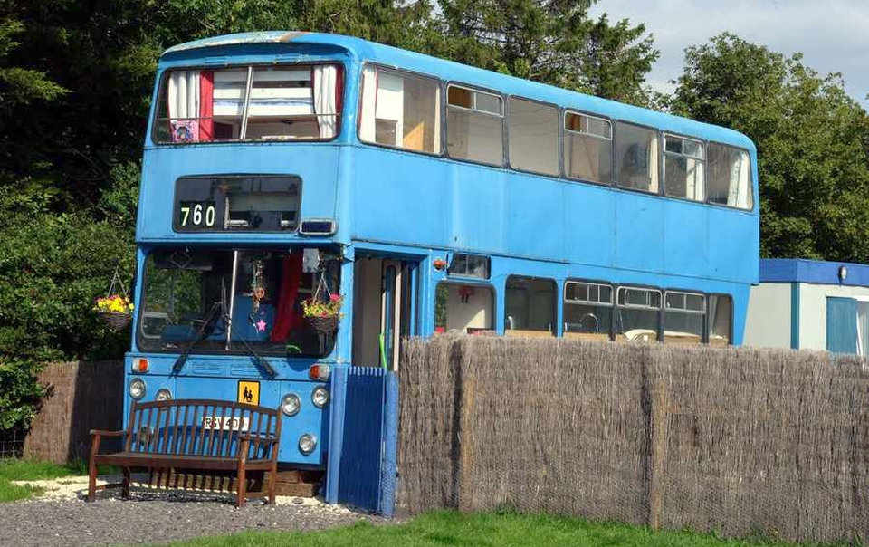 Betsy Blue Bus