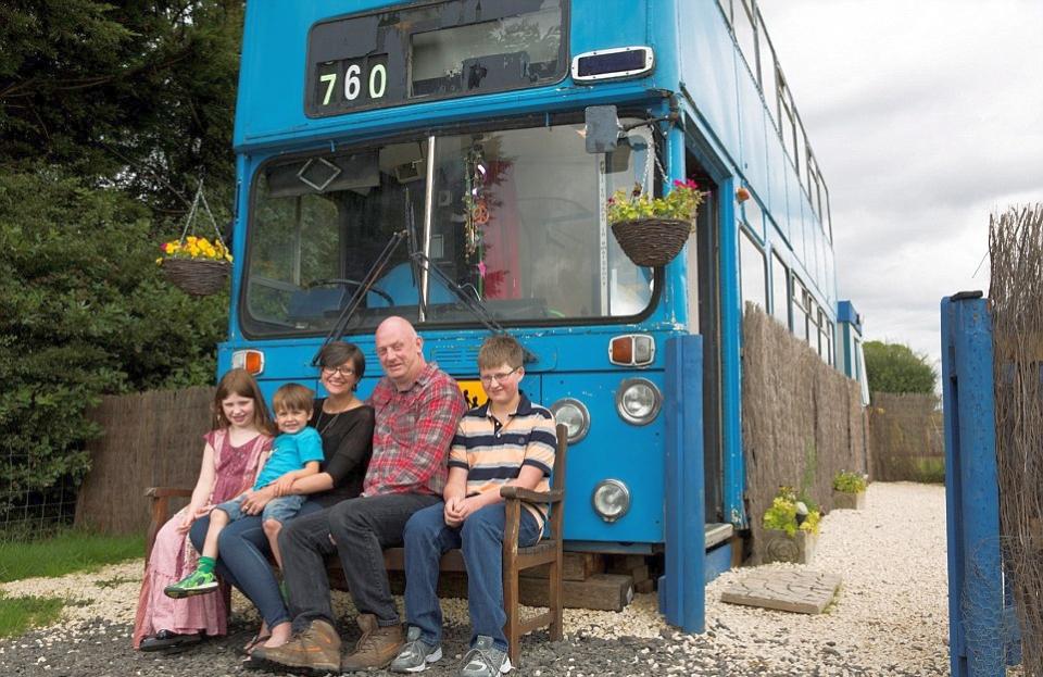 Betsy Blue Bus