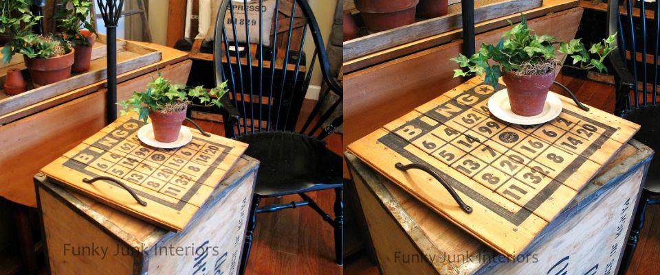 Bingo Board & Tray