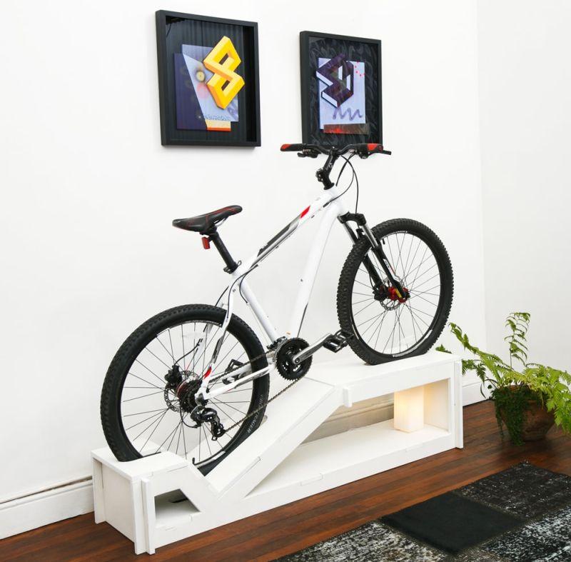 Chol1 Angle Bike Storage Furniture