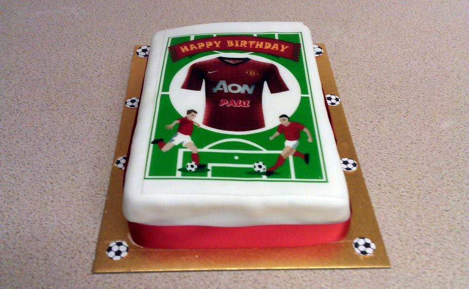 FIFA Cake by Joahua Nunnley