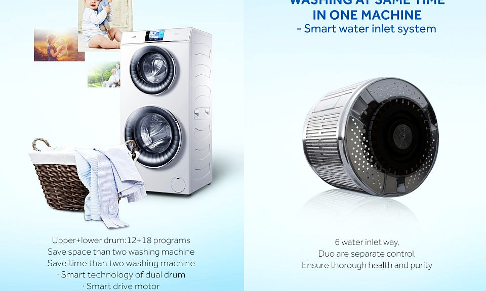 Haier Duo Washing Machine