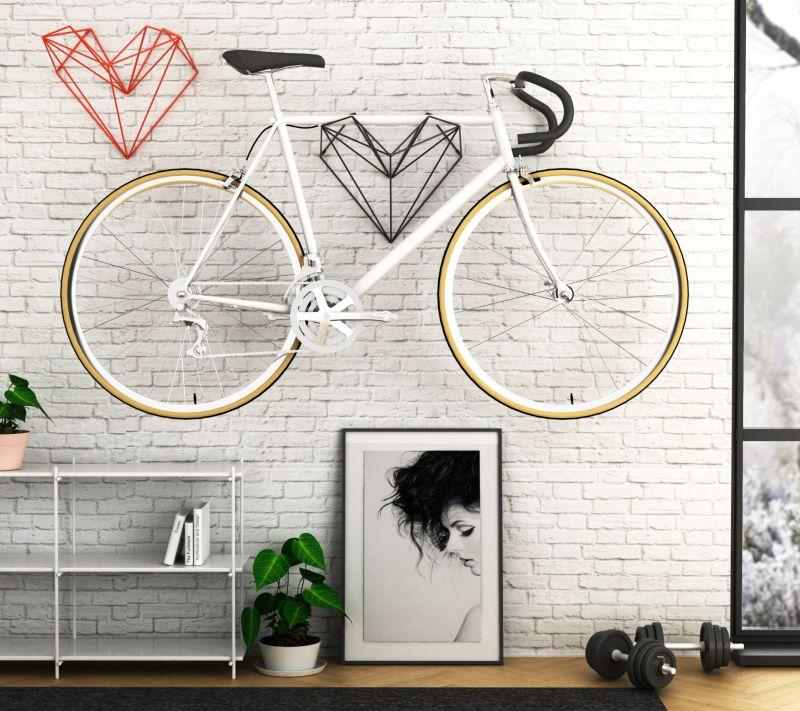 Heart-Shaped Bike Holder
