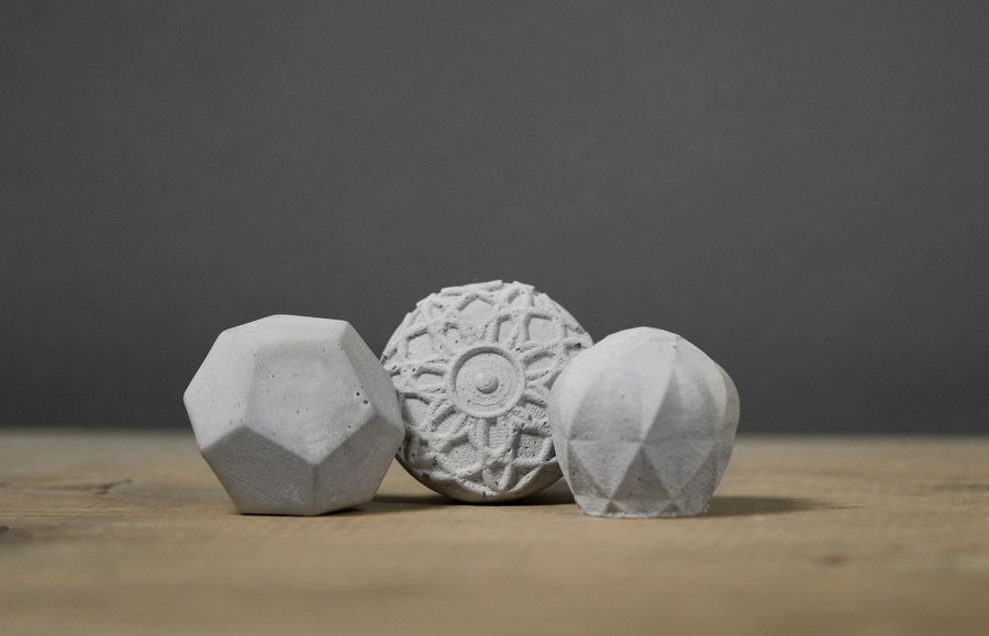 Kast concrete knobs for furniture