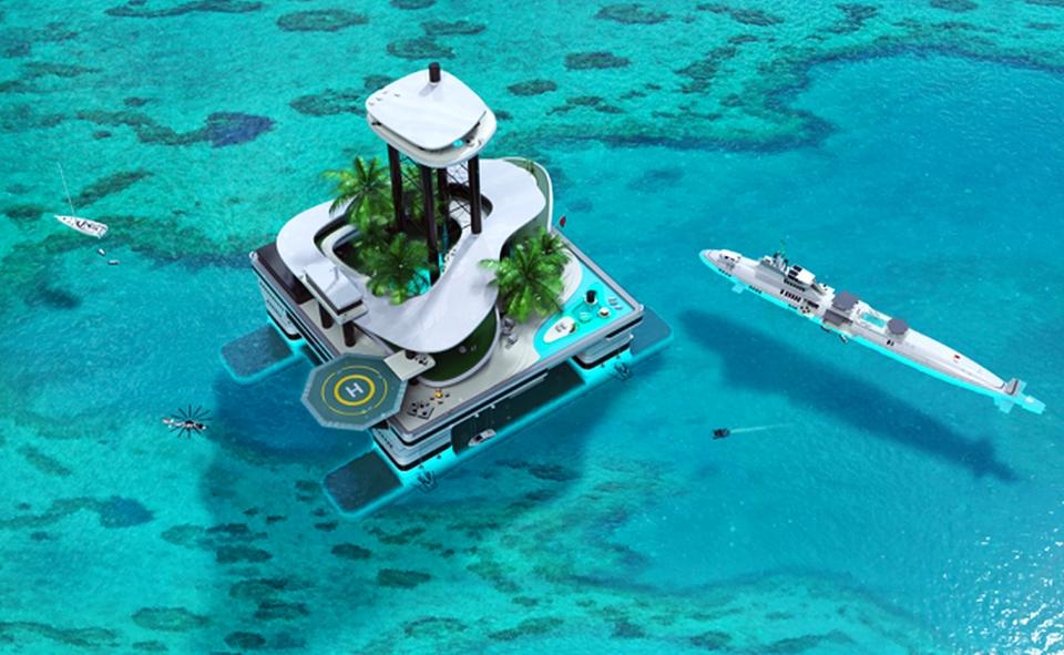 Kokomo Island by Migaloo Submarines