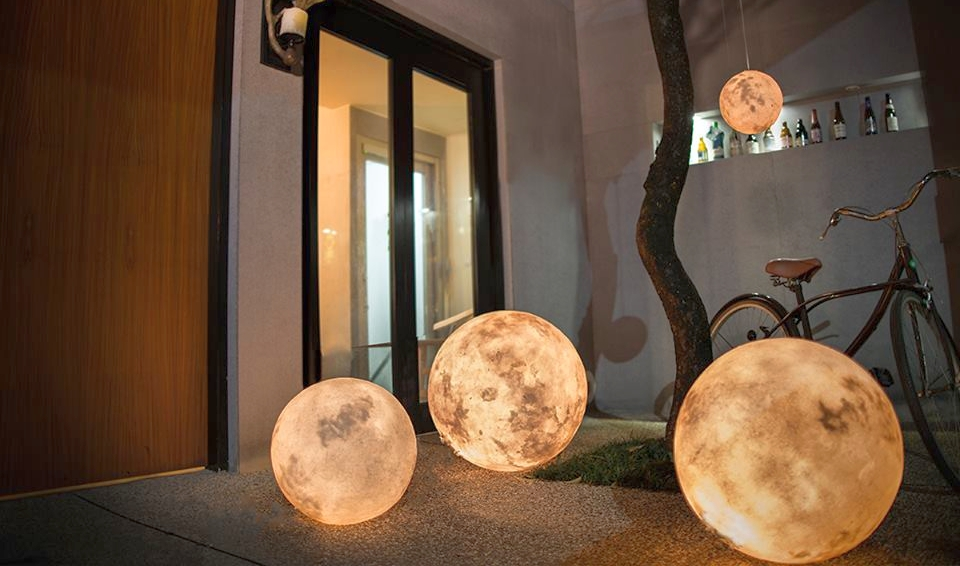 Luna Lamp by Acron Studio