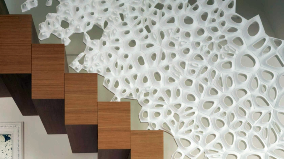 Marc Fornes Corian Staircase