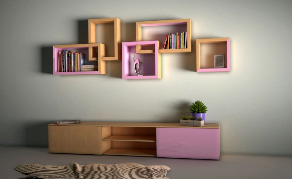 Nova Quadratum shelves