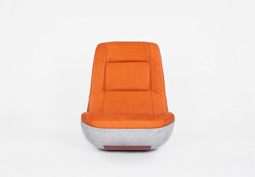 Paulsberg concrete rocking chair