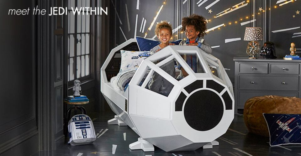 Star Wars bed by Pottery Barn Kids