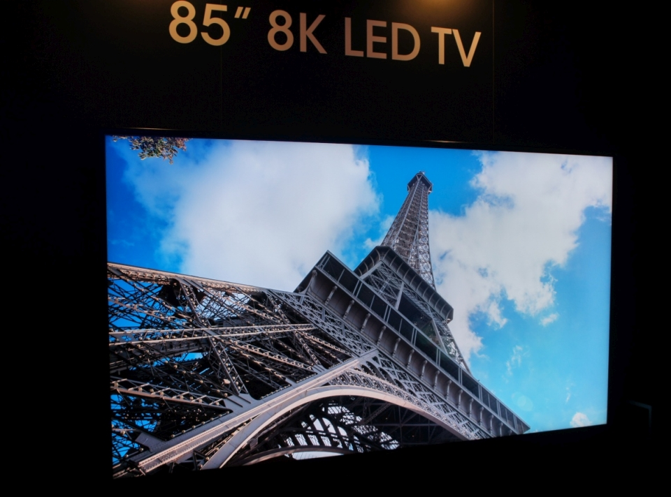 Sharp 8K LED TV