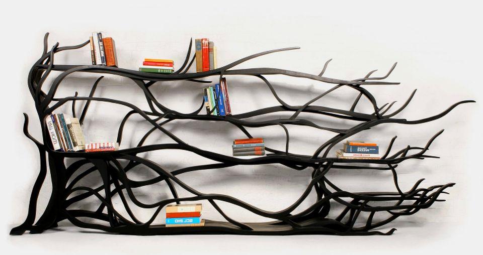 Tree bookshelf by Sebastian Errazuriz