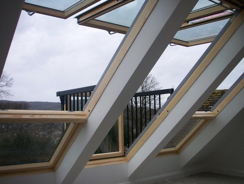 Velux Cabrio Balcony
