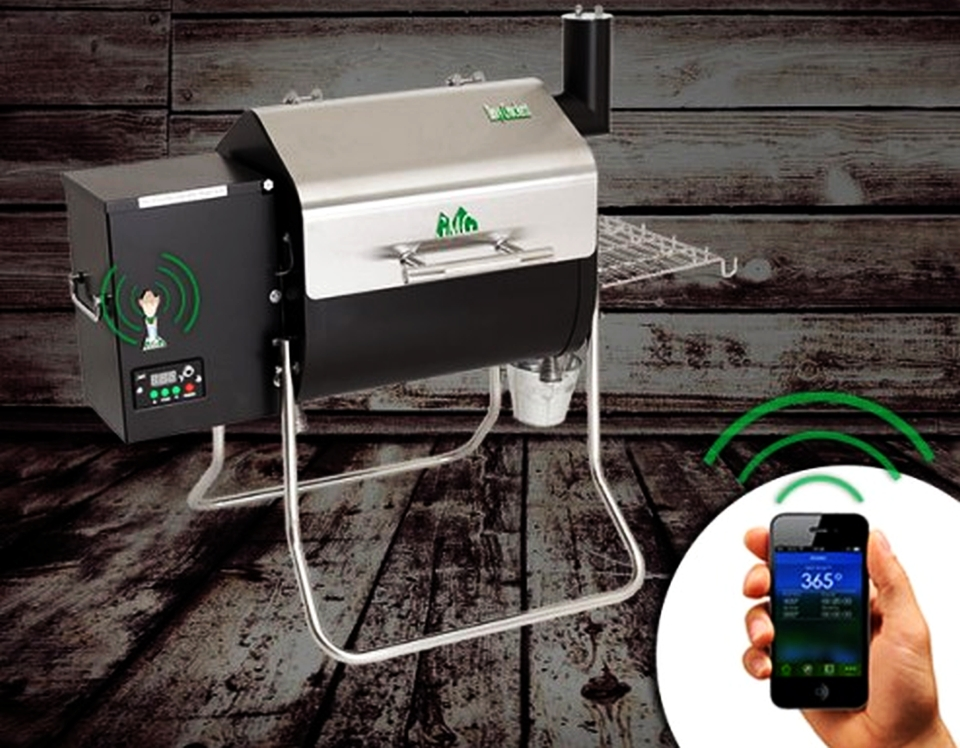 WiFi-Controlled Davy Crockett Grill