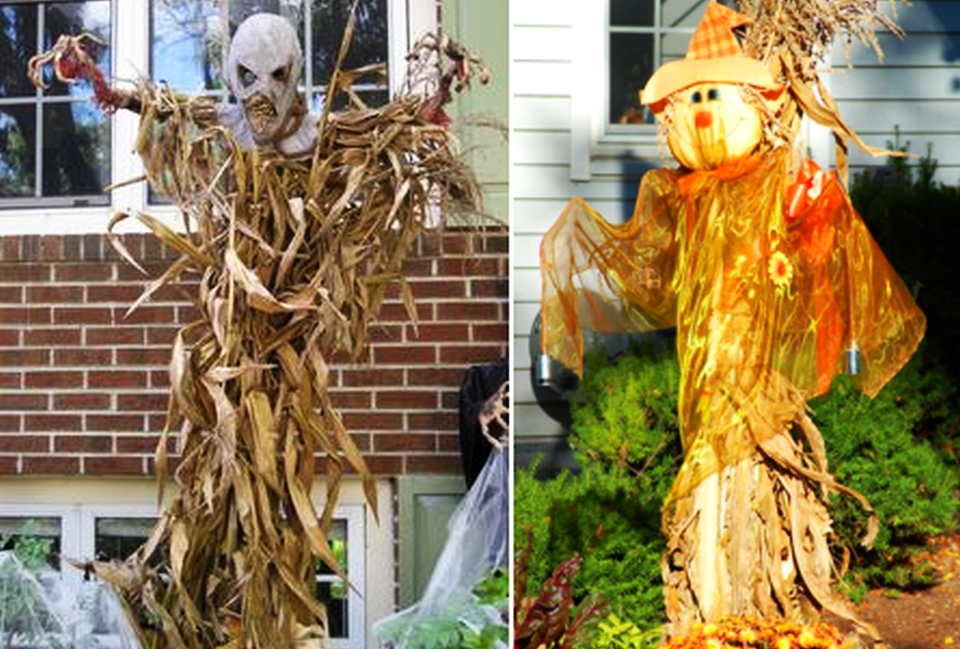 10 scarecrow decorations for Halloween fright and fun