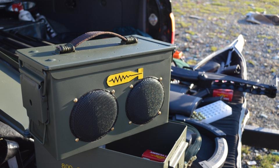 BomberBox Speaker by Bomber Audio