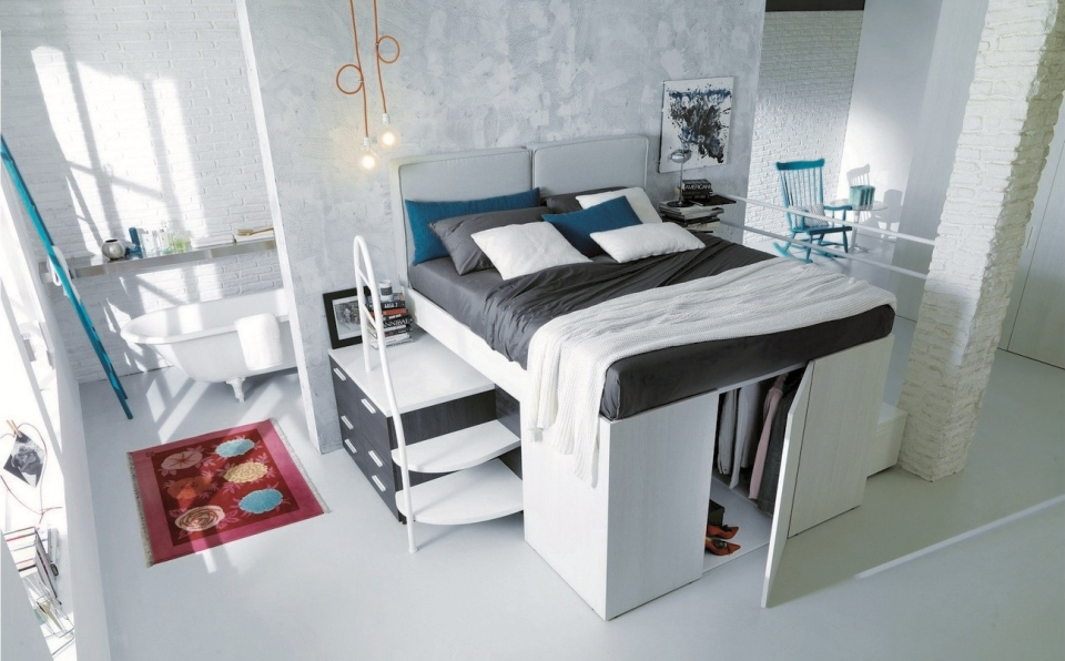 Container Bed by Dielle