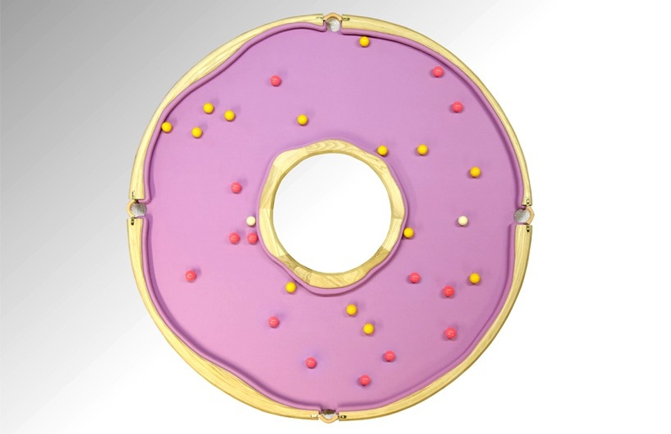 Donut-shaped Pool Table
