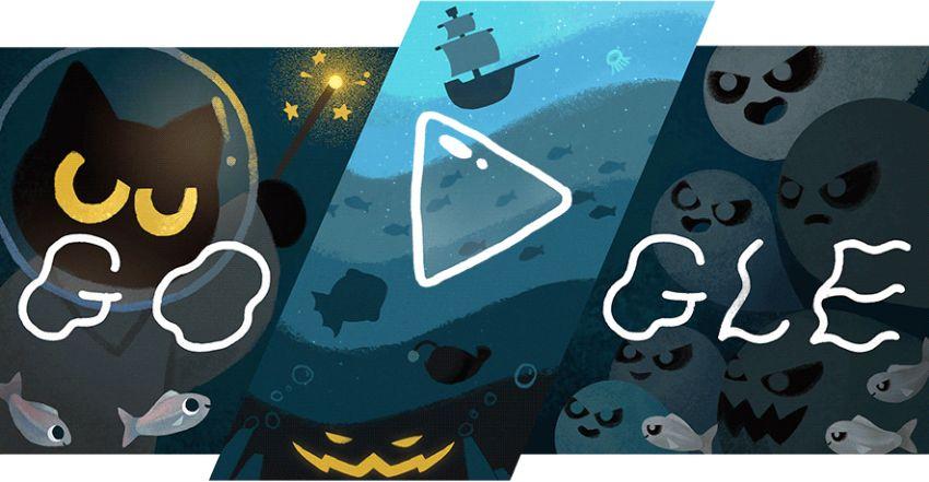 Google Doodle for Halloween 2020