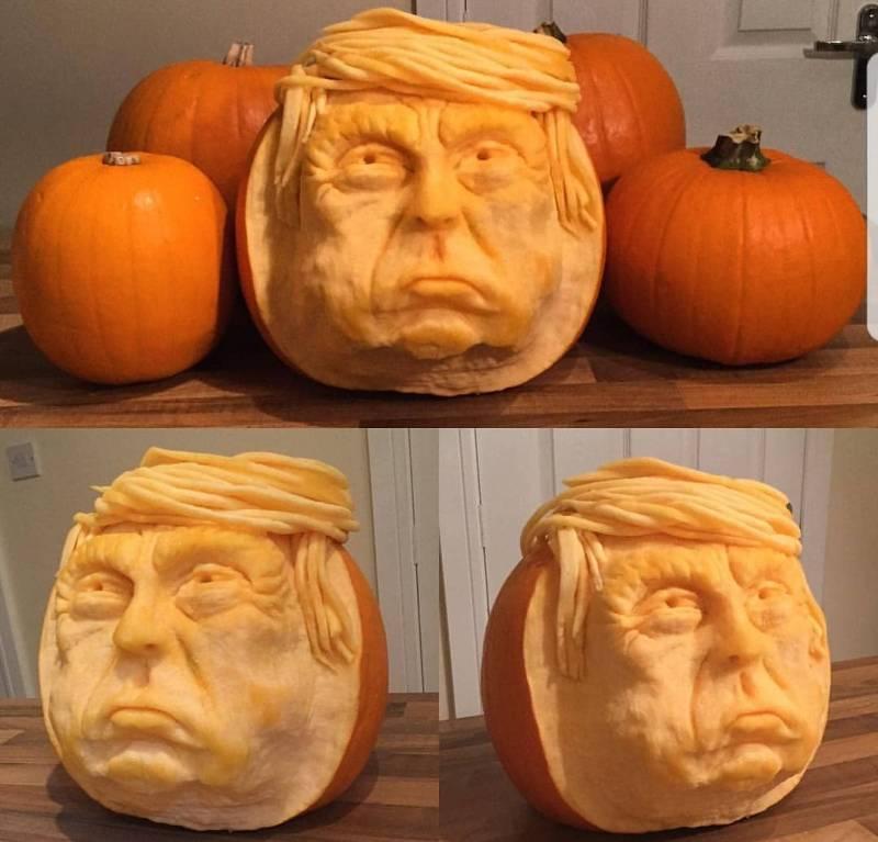 Halloween Trumpkin
