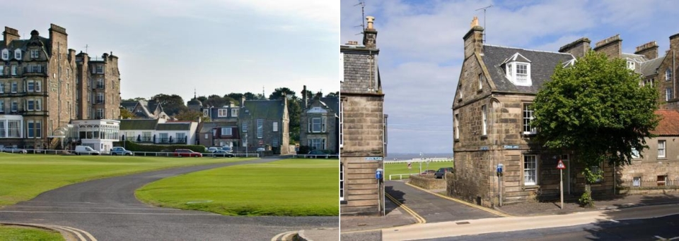 Luxury house overlooking St Andrews Old Course