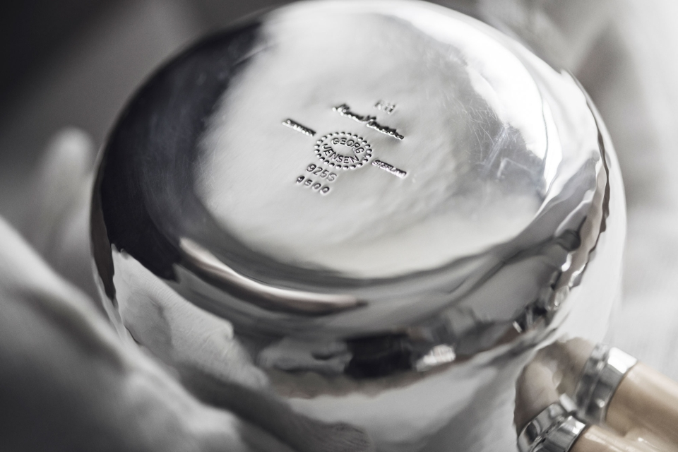 Marc Newson silver tea set