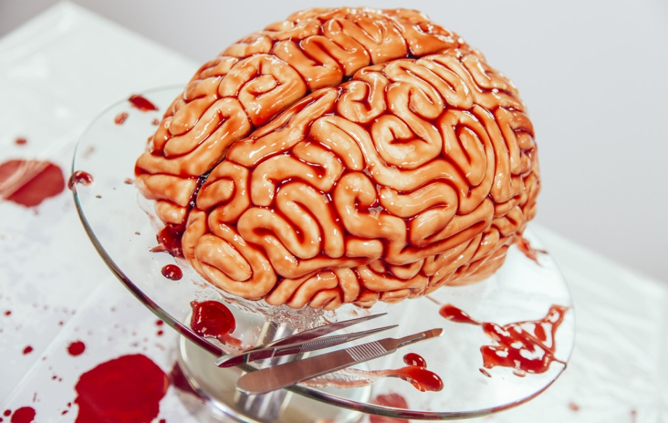 Red Velvet Brain Cake by Yolanda Gumpp