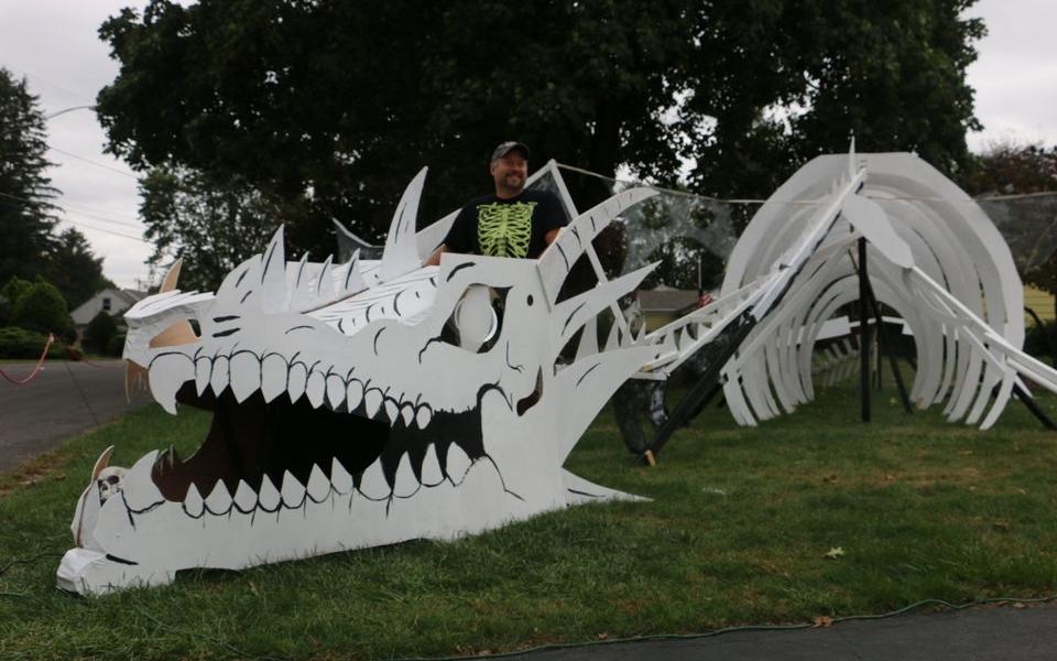 Sandra Drive dragon skeleton is perfect for Halloween 2015
