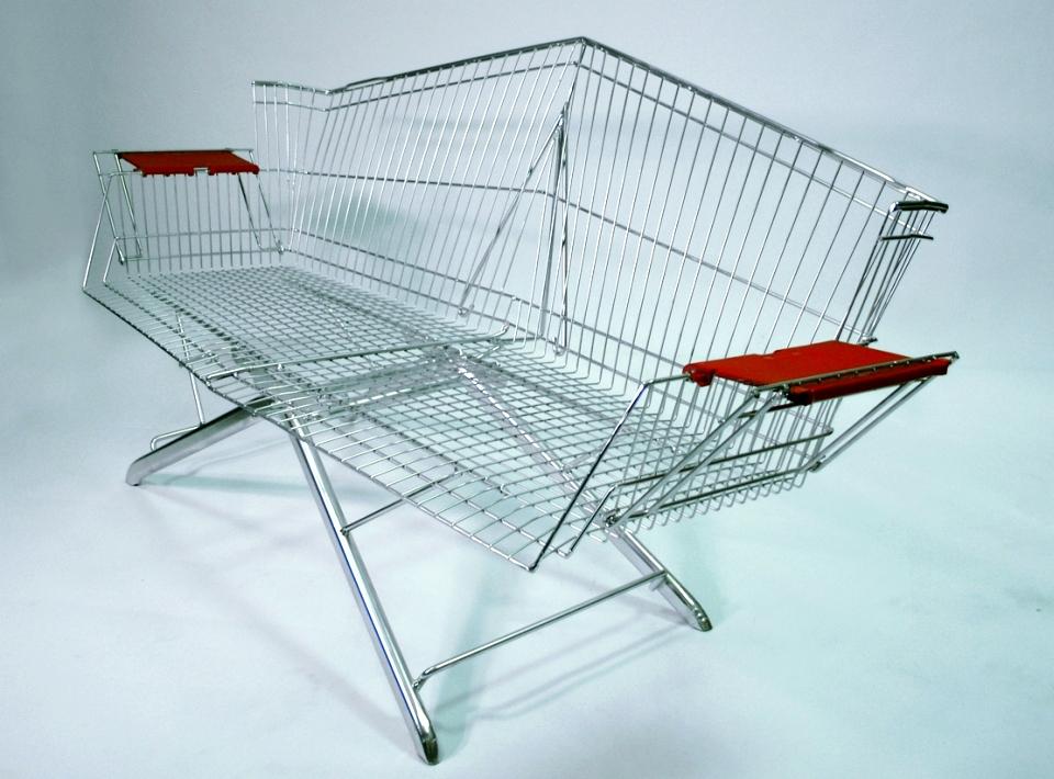 Shopping cart furniture
